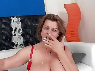Busty Wife Fucks In Front Of Husband