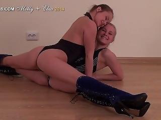 21) Molly (a.k.a Regina Cl-erotic) + Elsa Training