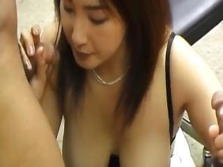Yui Tokui Sucks Dongs And Is Drilled In Asshole And In Hairy Slit
