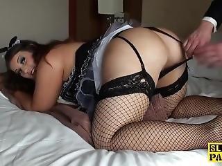 British Maid Bbw