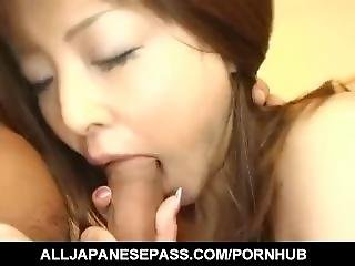 Manami Suzuki Sensual Foreplay Before A Harsh Fuck - More At Hotajp.com