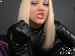 Leather Glove Domination Joi