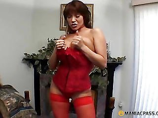 In The Mouth Mature Aunt Shoves His Dick