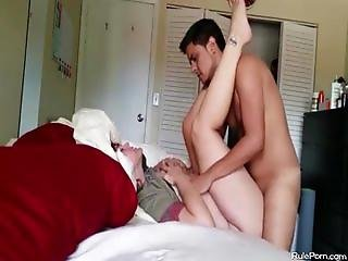 Fucking chubby moaning girl while my parents