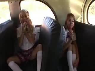 School Bus Sex Girl