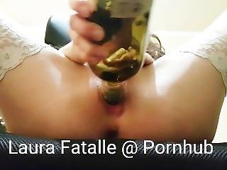 Step Sister Extreme Bottle Insertion-laura Fatalle