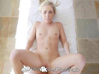 Tiny4k - Short Blonde Girl Amy Summers Shake Her Wet Ass