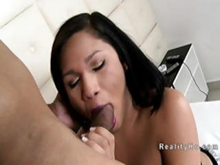Teen Shemale In Lingerie Anal Fucked