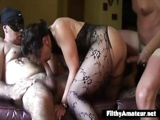 Three Wives Get Fucked By Strangers Anal And Squirt