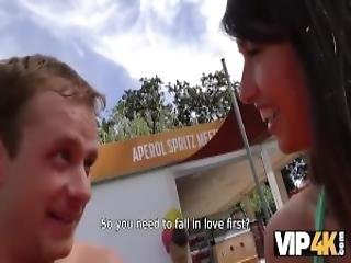 Vip4k Hunter Meets Girl On Public Beach And Has Anal Sex With Her