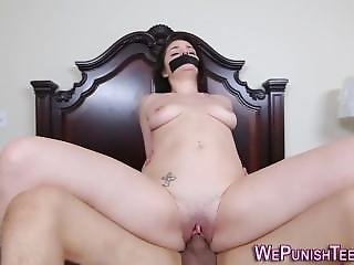 Bound Teen Gets Bdsm Fuck