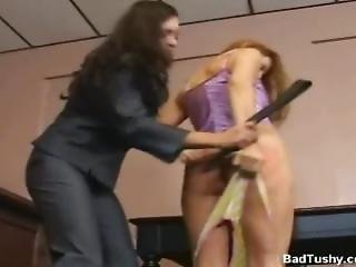Courtroom Spanking