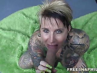 Tattooed Milf Gets A Hardcore Fuck By Freesnapmilf