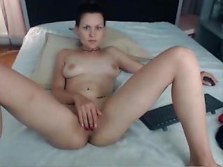 Camgirl Bb_25 (angie) Nude, Fingering, Playing, Smoking 080917 12m