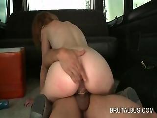 Sex Bus Amateur Slut Riding Large Cock On The Bus Floor