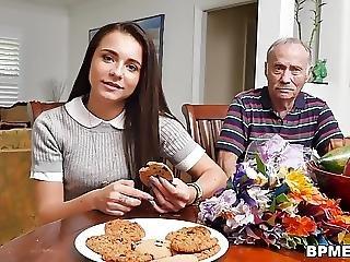 Teen Amy Loves Old Men