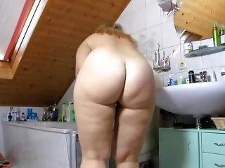 German Big Butt Shower