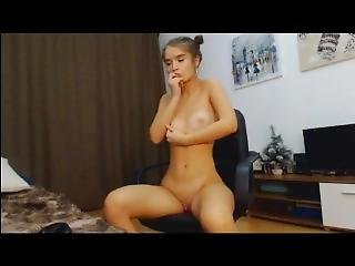 Sweet Blond With A Dildo