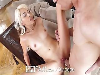 Spyfam Step Sister Hime Marie Blackmailed Into Fuck With Step Brother