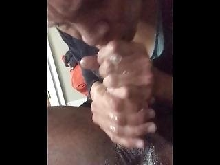 Miss Haydees Gets Mouth Full Of Cum Again