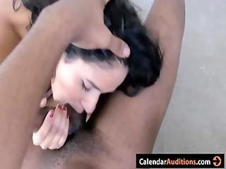 Juelz ventura and brooklyn lee hottest sloppy blowjob