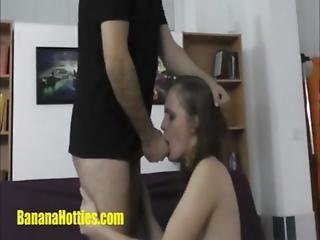 First Hardcore For Sexy Student At The Casting