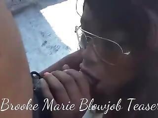 Brooke Marie Teaser Blowjob Vid
