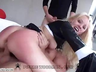 Submissive Nun Takes Ten Thick Cocks In Her Ass