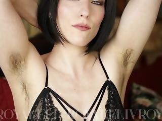 Livroyale: Hairy Armpits Tease With Gentle Cei