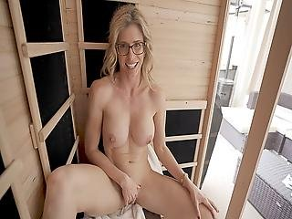 Naked Sauna Fun With My Friend's Hot Mom Part 5 Cory Chase