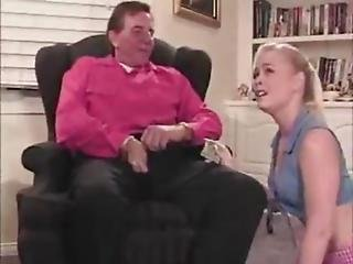 Stepdad And Stepson Fuck His Girlfriend
