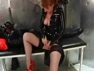 Latex Slave Bondage Breathplay