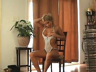 Naughty Sarah Farting In Sexy Lingerie