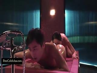 Daniella Wang And Celia Kwok Asian Rimming In Due West Our Sex Journey