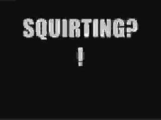 Sexy Ebony Squirts