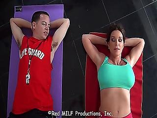 Nerdy And Shy Stepson Gets More And More Frustrated Seeing His Hot Stepmom