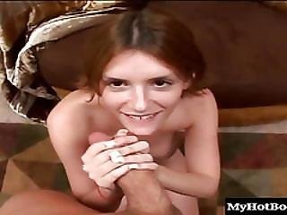 Desiree Is A Horny Brunette Nympho Who Likes To Ride The Biggest Cocks