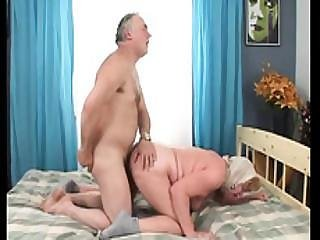 Ultra Pleasing And Sexy Granny With My Brother