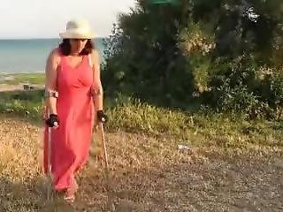 Crutches Sexy