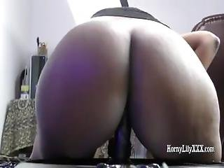 Indian Babe Horny Lily Big Ass Spanked