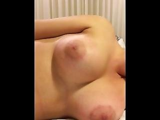 Boobs Moving With Heartbeats