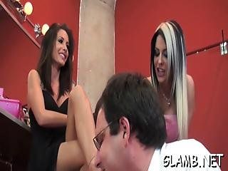 Slave Gets Whipped By Mistress