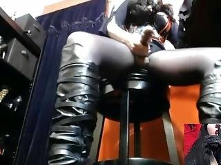 Goddess Midnight Plays With Her Pretty N Word Bitch