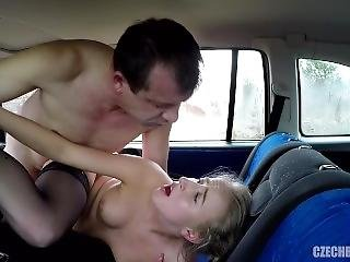 Czech Prostitute Fucked In Car