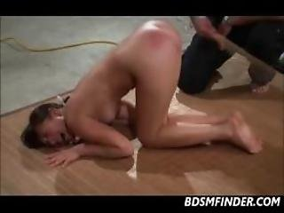 Caning And An Intense Orgasm