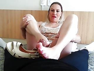 Brazilian Shoes And Footjob