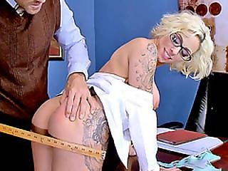 Huge Boobs Schoolgirl Harlow Harrison Fucked By Her Prof