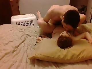 Young Hot Couple Amateur Scene