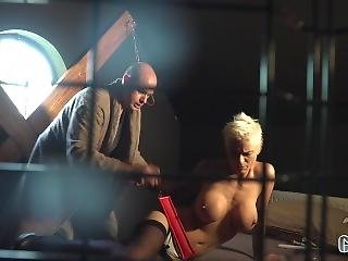 Sinning Nun Mila Mila Gets Punished By The Brothers Big Facial Cumshots