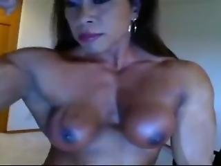 Hard Sexy Female Muscles